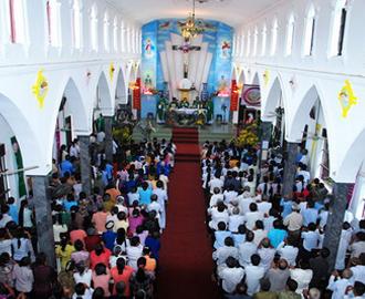 Ngày chầu lượt của giáo xứ Uy Đức - giáo phận Phát Diệm